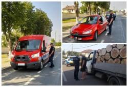 Acțiune a polițiștilor arădeni, la Chișineu-Criș