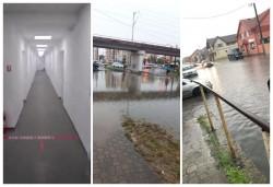 Ploaia torențială de sâmbătă seara a inundat mai multe zone din Arad inclusiv arena Francisc Neuman