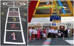 Secția Pediatrie 2 are un loc nou de joacă și o zonă verde reamenajată