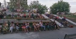 Concert coral în Parcul Mihai Eminescu