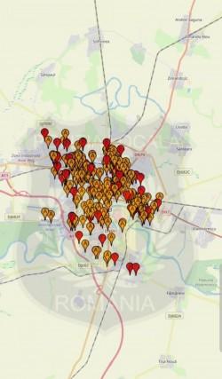 300 de mașini abandonate în Arad, în vizor pentru a fi ridicate de pe domeniul public