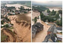 Inundații catastrofale în vestul Germaniei, cel puțin 100 de morți și 1.300 de persoane dispărute