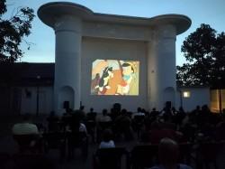 Două filme pentru copii și un spectacol de teatru de păpuși, în grădina de vară de la cinematograful din Grădiște