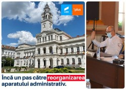 Ipocrizie la vot în Consiliul Local. Consilierii USR deși reclamă cheltuieli mari cu personalul în primărie, nu votează reorganizarea