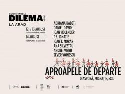 Conferințele Dilema veche revin la Arad între 12-14 august