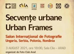 Vernisaj la Sala Clio - Secvențe urbane – Urban Frames