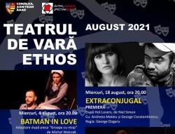 Programul lunii august la Teatrul de vară