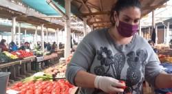 Legume și fructe românești de sezon în piețele arădene