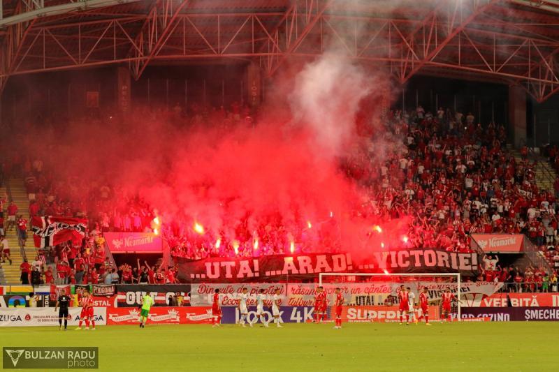 UTA a lăsat trupa lui Becali cu două puncte în minus în drumul acesteia spre Champions League. UTA- FCSB 1-1