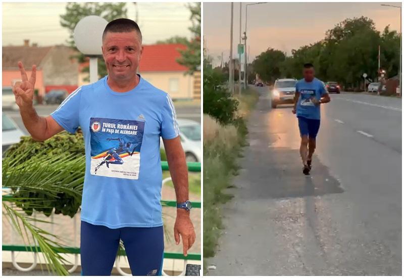 Turul României în pas de alergare
