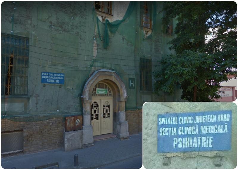 Secția Psihiatrie de pe strada Octavian Goga relocată temporar