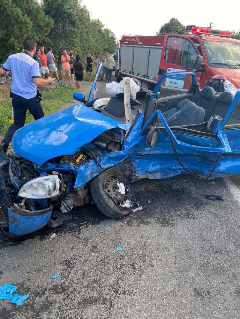 Două femei au murit în două accidente produse aproape simultan în județul Arad