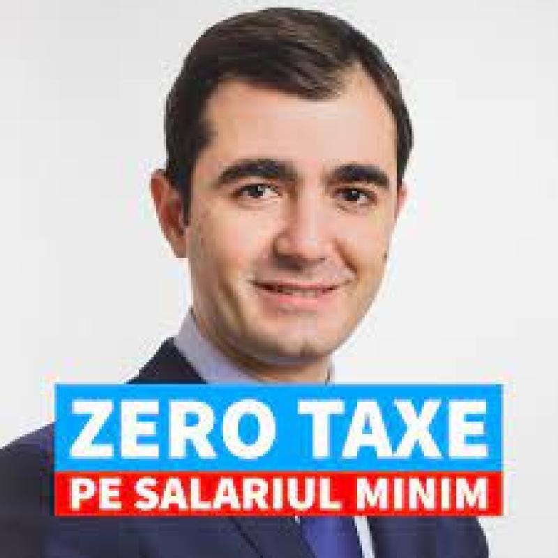 Ministrul Economiei spune că de la 1 ianuarie 2022 măsura zero taxe pe salariul minim va fi implementată pe un sector pilot