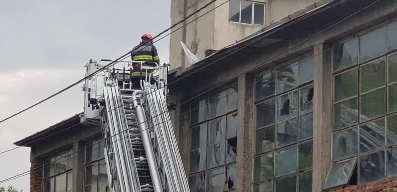 Posibilă nenorocire anticipată de pompierii arădeni