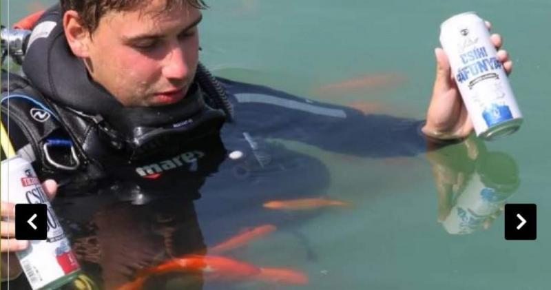Imaginația românilor nu are limite. Prima berărie subacvatică din Europa funcționează în județul Covasna. Instrucțiuni de îngurgitare