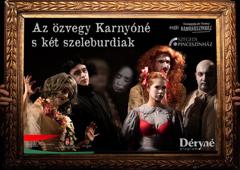 Spectacol premiat la festivaluri internaționale revine la Arad