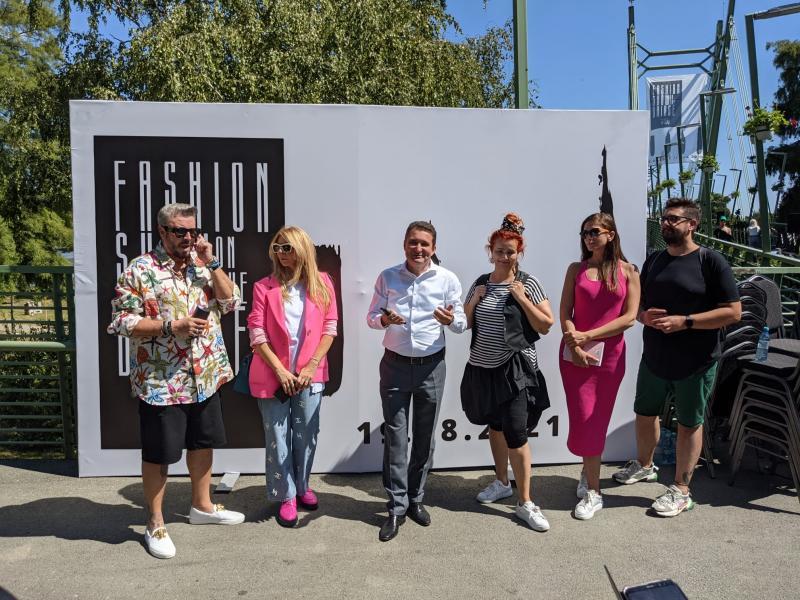 Fashion Show on the Bridge, un eveniment inedit de Zilele Aradului