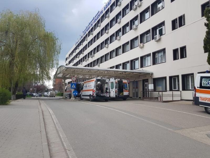 Trei zile de foc la Spitalul Județean Arad. 414 pacienți s-au prezentat la UPU, dintre care 153 au fost internați