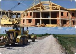 Patru șantiere importante din județ, două spitale și două drumuri, au finanțare din excedentul bugetar