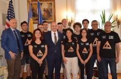 """Rezultat senzațional. Echipa de robotică """"Delta Force"""" de la LNI Arad în top 10 a celor mai bune echipe din lume"""