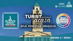 """Un nou sezon de tururi ghidate gratuite la Arad – proiectul """"Turist la tine acasă"""" revine"""