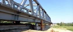 A fost finalizată construcția celui de-al doilea pod feroviar de la Conop peste râul Mureș