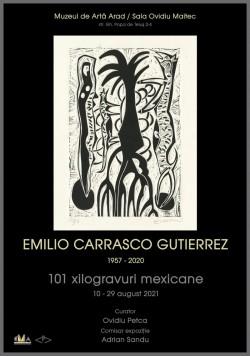 """Expoziția """"101 xilogravuri mexicane"""" la Muzeul de Artă Arad"""