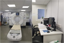 Noul angiograf și noul computer tomograf vor fi montate în spații noi la Spitalul Județean Arad