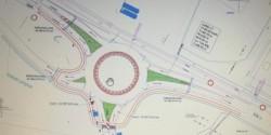 Comuna Vladimirescu va avea un sens giratoriu la intrarea dinspre Arad