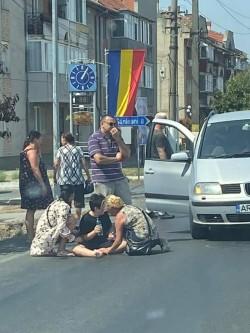 Un copil a fost lovit de o mașină pe trecerea de pietoni în Vladimirescu