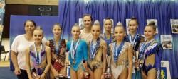 """Starurile de la concursul """"Rhythmic Star"""" de la Ploiești au fost gimnastele de la CSM Arad"""