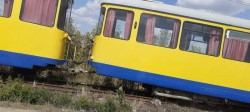 Tramvai deraiat între Vladimirescu și Mândruloc