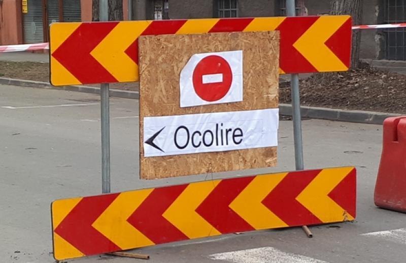 Restricții de circulație pe strada Poetului