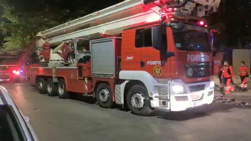Încă un spital din România a luat foc. 150 de pacienți au fost evacuați