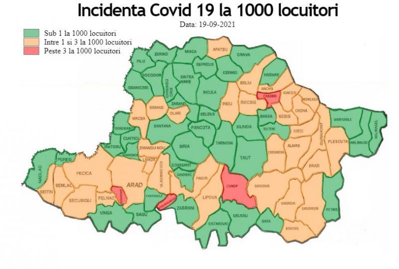 Bilanţ Pandemie 19 septembrie: 93 de cazuri de infectare, 1 deces și aproape 900 de cazuri active în județ!