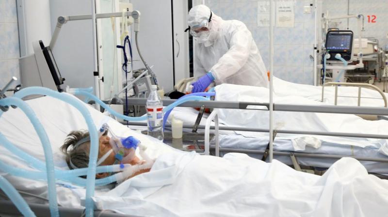 Un singur pat liber mai există liber la Arad destinat pacienților cu COVID-19