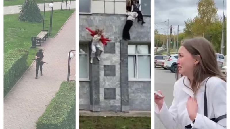 Măcel în Rusia. 8 morți și mai mulți răniți în urma unui atac armat efectuat de un student rus de 18 ani