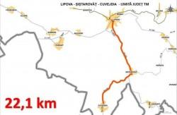 S-a semnat contractual pentru drumul județean Lipova-Șiștarovăț-Cuveșdia-limită județ Timiș