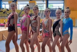 România a fost reprezentată cu succes de gimnastele de la CSM Arad la Gracia Fair Cup de la Budapesta