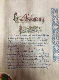 """Document istoric de peste un secol descoperit de Universitatea ,,Aurel Vlaicu"""""""