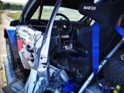 Accident mortal la Raliul Iașiului. Pilotul Adrian Răspopa a murit după ce a lovit un cap de pod de pe traseu