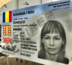 Astăzi la Cluj-Napoca se eliberează primele 100 de noi cărți de identitate electronice