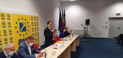 Ludovic Orban a prezentat moțiunea la Arad