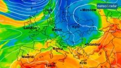 Valul de frig se accentuează în următoarele zile, temperaturi sub medie în toată țara