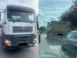 Controale la transportul de mare tonaj în municipiu
