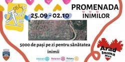 """Cluburile Rotary Arad şi Rotary Arad Cetate organizează """"Promenada Inimilor 2021"""""""