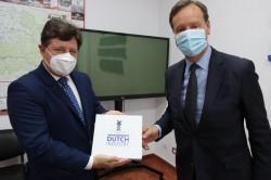 Iustin Cionca s-a întâlnit cu ambasadorul Olandei în România
