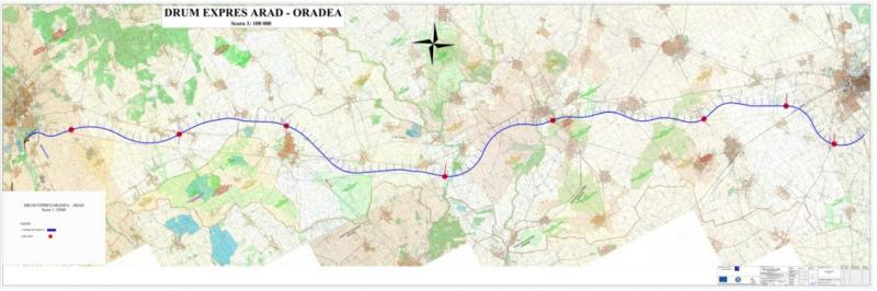 Drumul expres Oradea-Arad, proiect de 1,38 miliarde de euro, intră în linie dreaptă