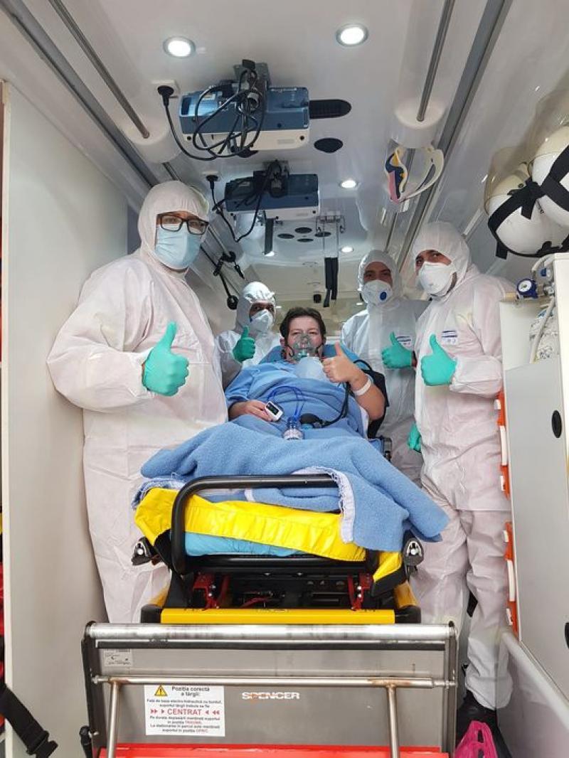 Trei pacienți de la UPU Arad au ajuns vineri seară la Spitalul din Szeged