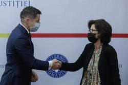 Secretarul de stat în Ministerul Justiției, Mihai Pașca, a primit vizita directorului Agenției Franceze Anticorupție